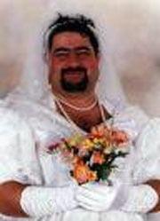 мужчина, мужчина с бородой, мужчина невеста, мужчина в свадебном наряде