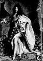 мужчина, король Франции, красиво одетый мужчина, мужчина в парике