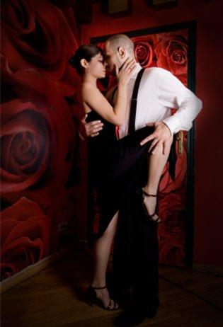 танго, мужчина с женщиной, танец, общение