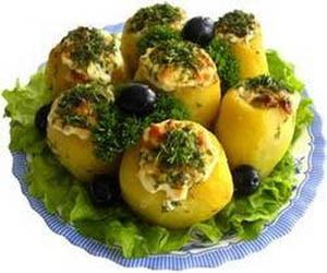 прибалтийская кухня картофель