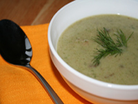 суп с грибами и мозгами