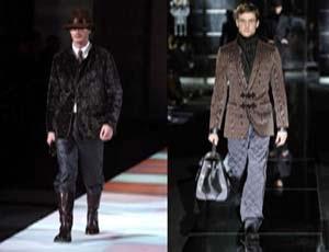 осень -зима мужская мода