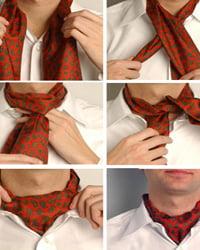 аскот, шейный платок