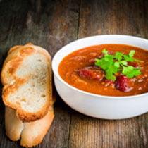 Овощной суп по-испански