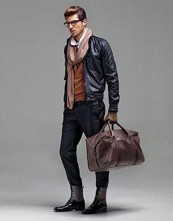 Мужская сумка подчёркивает социальный статус