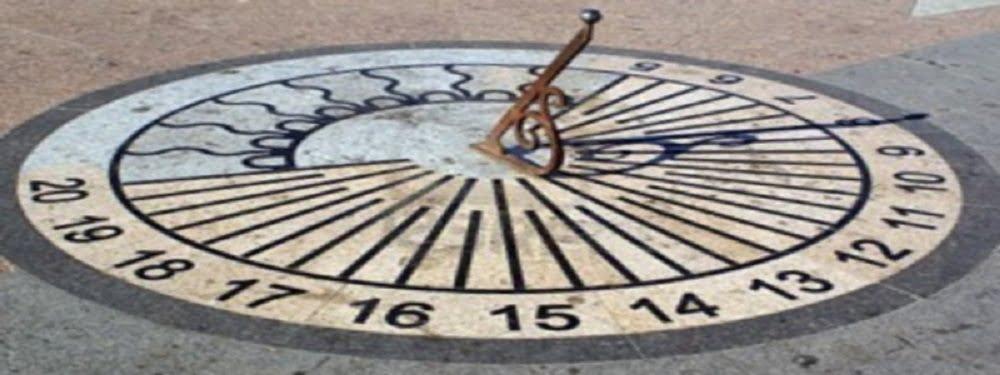 История часов: солнечные, водяные и огненные часы