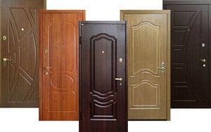 История входных дверей