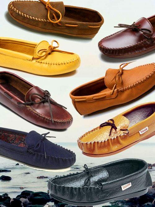 Обувь в стиле унисекс - мокасины
