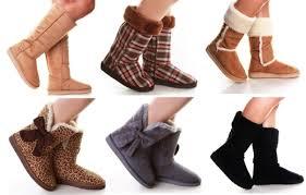 Популярная женская обувь – угги и ботфорты