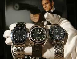 В стиле Бонда, часы могут оказаться даже важнее машины