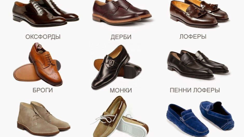 Мужская обувь 2019